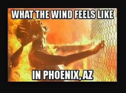 It's a Dry Heat.