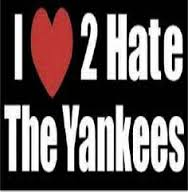 i love to hate the yankees