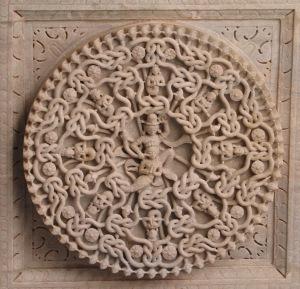Ornement_plafond_Ranakpur