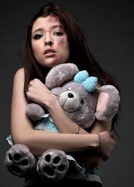 trafficked girl w teddy bear