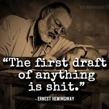 NaNo Tip: First Drafts Are Shit